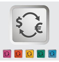 Currency exchange 2 vector