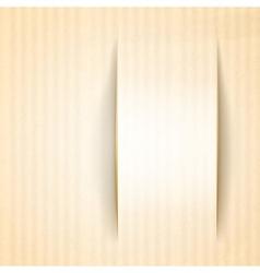 Vertical card template vector