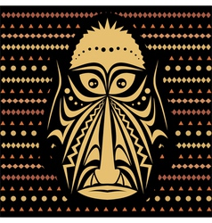 African mask vector