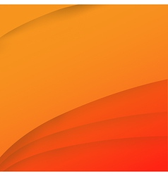 Abstract wave orange background 001 vector