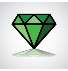 DiamondLogo vector image