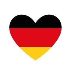 flag colors germany europe icon vector image