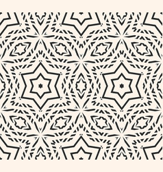 Ornament geometric delicate seamless pattern vector