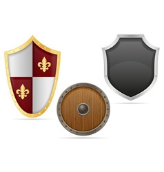 Battle shield 04 vector