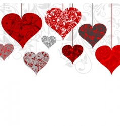 valentines background vector illustration vector image