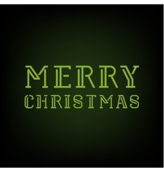 Christmas merry 2016 text template vector
