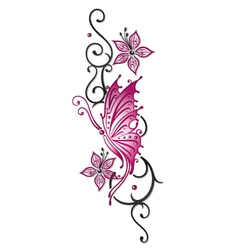 Flowers floral element vector image vector image
