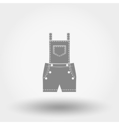Rompers icon vector image