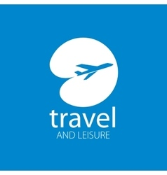 travel logo vector image vector image