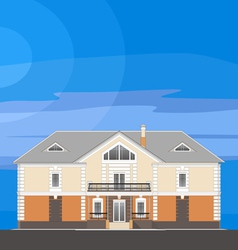 01 Classical Mansion V vector image vector image
