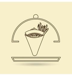 Japanese food design vector