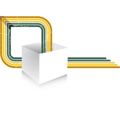 light box vector image