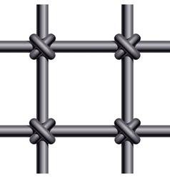 Seamless prison bars vector