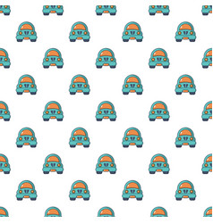 Toy car pattern seamless vector