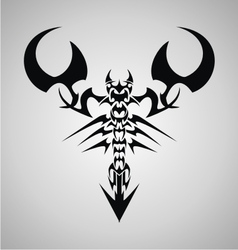 Tribal Scorpion vector image vector image