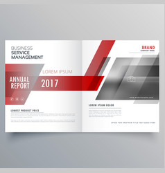Stylish brand identity business magazine cover vector