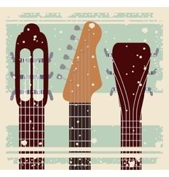 Retro music festival poster isolated icon design vector