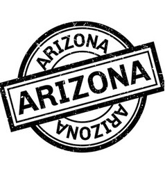 Arizona rubber stamp vector
