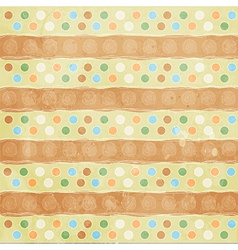 Beautiful and vintage seamless background vector image