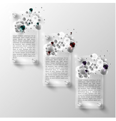 Design elements for web or blog templates vector