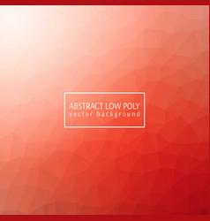 orange low poly design vector image vector image