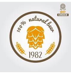 Vintage logo badge emblem or logotype design vector image vector image