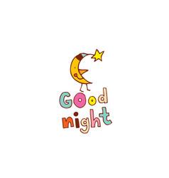 Good night vector