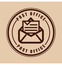 posty office vector image vector image