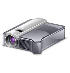 video projector vector image vector image