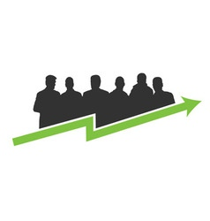 Business success green vector