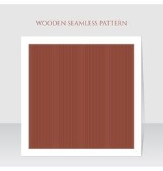 Seamless brown wooden lines texture vector