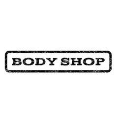 Body shop watermark stamp vector