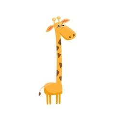 Giraffe Funny vector image vector image