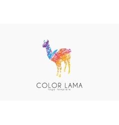 Lama logo color lama logo design creative logo vector