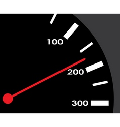 speedometer rate vector image vector image