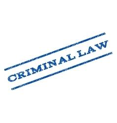 Criminal law watermark stamp vector