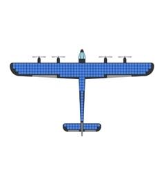 Airplane solar energy vector