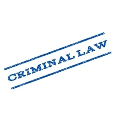 Criminal law watermark stamp vector