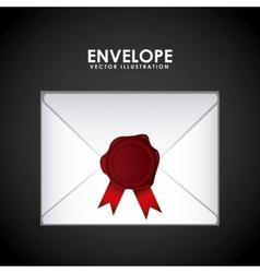 envelope seal design vector image
