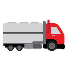 Isolated truck icon vector