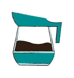 Coffee kettle icon image vector