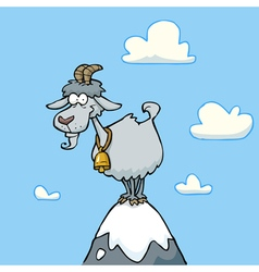 Mountain goat vector