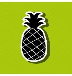 Fresh fruit design vector