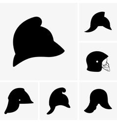 Firefighter Helmet vector image vector image