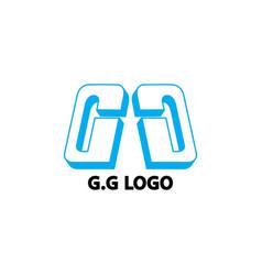 Gg logo vector