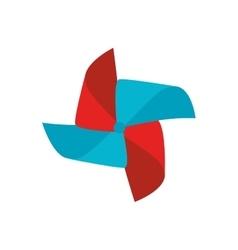 pinwheel toy wind vector image