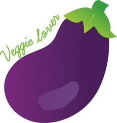 Veggie lover vector