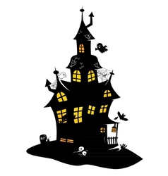 Haunted mansion vector