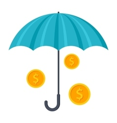 Finance Insurance Concept vector image