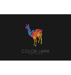 Lama logo color lama logo design creative logo vector